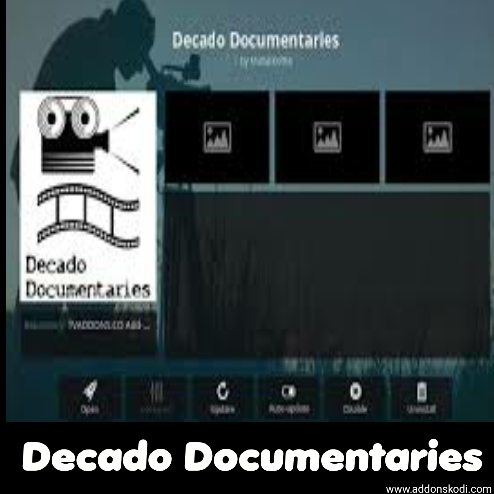 Cómo instalar Decado Documentaries en Kodi
